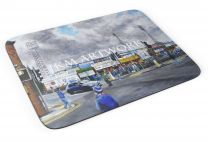 Saltergate Stadium 'Going to the Match' Fine Art Mouse Mat - Chesterfield Football Club