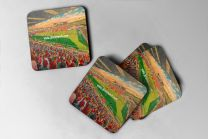 Sincil Bank Stadium Fine Art Coasters Set - Lincoln City Football Club