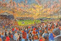 Somerset Park Stadium Fine Art Jigsaw Puzzle - Ayr United Football Club