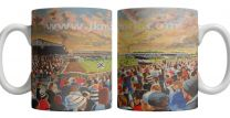 Somerset Park Stadium Fine Art Ceramic Mug - Ayr United Football Club