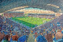 St Andrews Stadium Fine Art Jigsaw Puzzle - Birmingham City Football Club