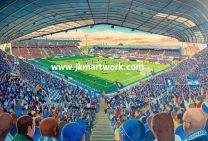 St Andrews Stadium Fine Art Print - Birmingham City Football Club