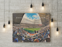 St James' Park Stadium Fine Art Canvas Print - Newcastle United Football Club