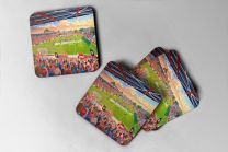 St James' Park Stadium Fine Art Coasters Set - Exeter City Football Club