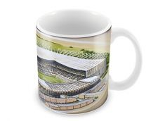 St James' Park Stadia Fine Art Ceramic Mug - Newcastle United Football Club