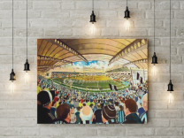 St Mirren Park Stadium Fine Art Canvas Print - St Mirren Football Club