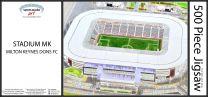 Stadium MK Fine Art Jigsaw Puzzle - Milton Keynes Dons Football Club