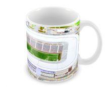 Stadium MK Stadia Fine Art Ceramic Mug - Milton Keynes Dons Football Club