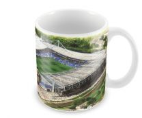 Stamford Bridge Stadia Fine Art Ceramic Mug - Chelsea Football Club