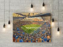 Stamford Bridge Stadium Fine Art Canvas Print - Chelsea Football Club