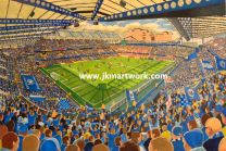 Stamford Bridge Stadium Fine Art Print - Chelsea Football Club