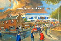 Stark's Park Stadium Fine Art Print - Raith Rovers Football Club