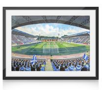 McDiarmid Park Stadium Fine Art Print - St Johnstone Football Club
