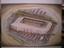 Liberty Stadia Fine Art Print  - Swansea City Football Club