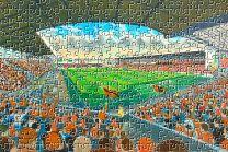 Tannadice Park Stadium Fine Art Jigsaw puzzle - Dundee United Football Club