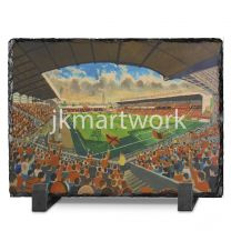 Tannadice Park Stadium Fine Art Slate Presentation - Dundee United Football Club