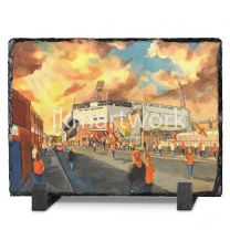 Tannadice Park Stadium 'Going to the Match' Fine Art Slate Presentation - Dundee United Football Club