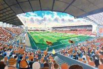 Tannadice Park Stadium Fine Art Print - Dundee United Football Club