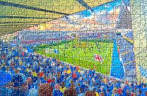 The Den Stadium Fine Art Jigsaw Puzzle Millwall Football Club