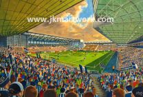 The Hawthorns Stadium Fine Art Print - West Bromwich Albion Football Club