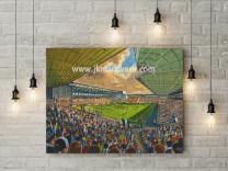 The Hawthorns Stadium Fine Art Canvas Print - West Bromwich Albion Football Club