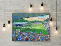 The Shay Stadium Fine Art Canvas Print - Halifax Town Football Club