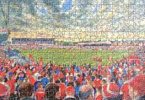 The Willows Stadium Fine Art Jigsaw Puzzle - Salford Rugby League Club