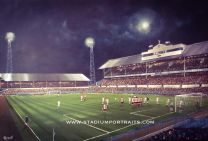 White Hart Lane Stadium Fine Art Box Canvas Print 'v Anderlecht UEFA Cup Final 1984' - Tottenham Hotspur Football Club