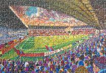 Turf Moor Stadium Fine Art Jigsaw Puzzle - Burnley Football Club