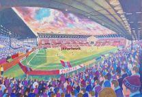 Turf Moor Stadium Fine Art Print - Burnley Football Club