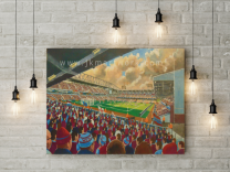 Upton Park Stadium Fine Art Canvas Print - West Ham United Football Club