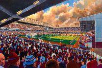 Upton Park Stadium Fine Art Print - West Ham United Football Club