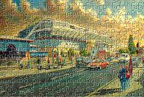 Upton Park Stadium Fine Art Jigsaw Puzzle - West Ham United Football Club