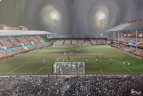 Upton Park Stadium Fine Art Box Canvas Print 'v Newcastle United 1986' - West Ham United Football Club
