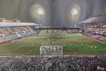 Upton Park Stadium Fine Art Box Canvas Print 'v Newcastle United 1986' - West Ham United Football Club