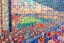 Valley Parade Stadium Fine Art Jigsaw Puzzle - Bradford City Football Club