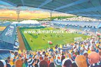 Vetchfield Stadium Fine Art Print - Swansea City Football Club