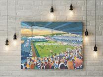Vetchfield Stadium Fine Art Canvas Print - Swansea City Football Club