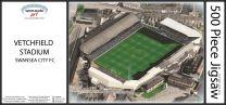 Vetchfield Stadia Fine Art Jigsaw Puzzle - Swansea City Football Club