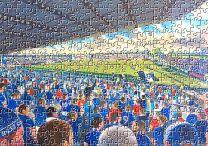 Victoria Park Stadium Fine Art Jigsaw Puzzle - Ross County Football Club