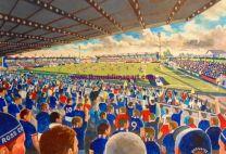 Victoria Park Stadium Fine Art Print - Ross County Football Club