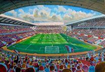 Villa Park Stadium Fine Art Print - Aston Villa Football Club