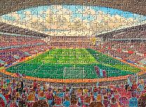 Villa Park Stadium Fine Art Jigsaw Puzzle - Aston Villa Football Club