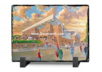 Villa Park Stadium 'Going to the Match' Fine Art Slate Presentation - Aston Villa Football Club