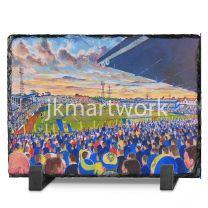Plough Lane Stadium Fine Art Slate Presentation - AFC Wimbledon