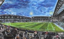 The Hawthorns Stadium 'Under the Lights' Fine Art Print - West Bromwich Albion Football Club