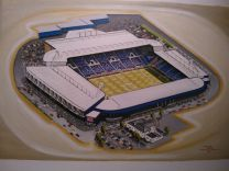 The Hawthorns Stadia Fine Art Print  - West Bromwich Albion Football Club