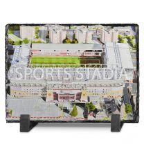 Upton Park Stadium Fine Art Slate Presentation - West Ham United Football Club