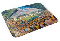 Wheldon Road Stadium Fine Art Mouse Mat - Castleford Tigers Rugby League