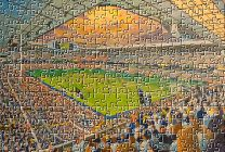 White Hart Lane Stadium Fine Art Jigsaw Puzzle - Tottenham Hotspur Football Club